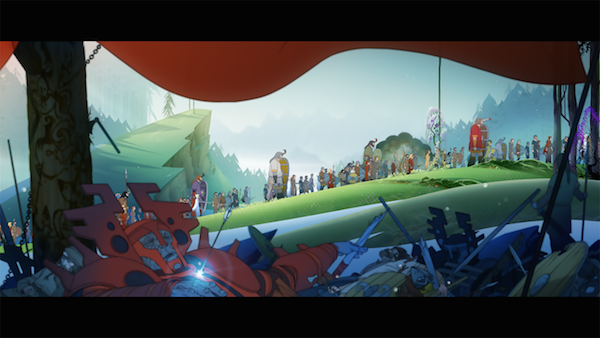 The Banner Saga 2 Marches Onward