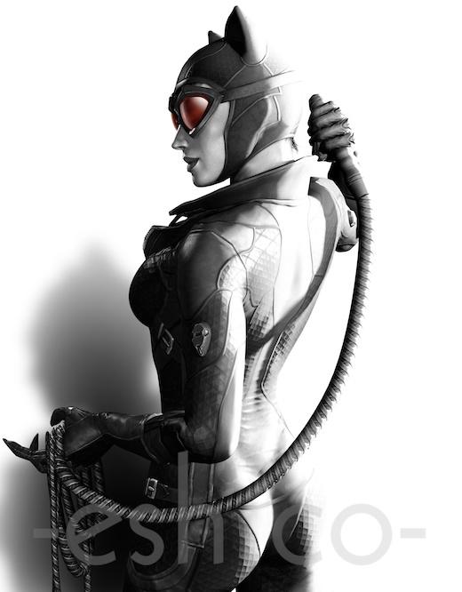 Batman Arkham City's Catwoman