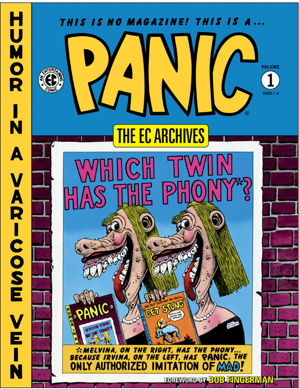 When comic books were a Panic