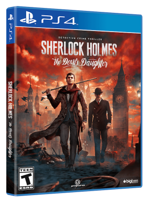 Sherlock Holmes TDD PS4
