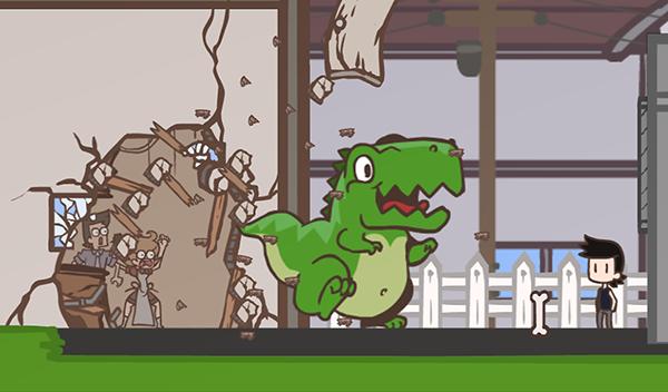 frESHlook - Me and My Dinosaur