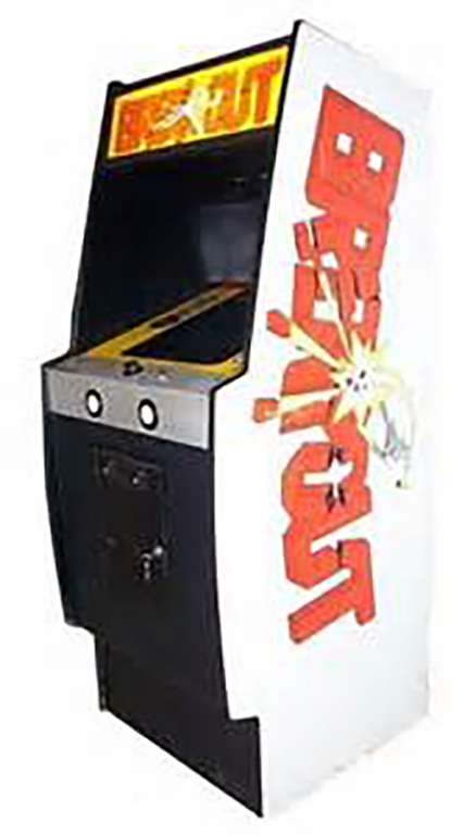 The Atari cabinet for the original game