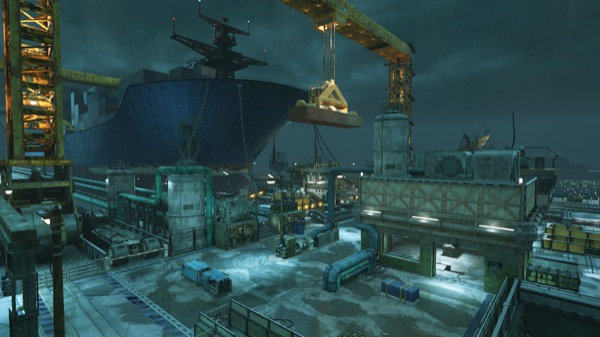 Multiplayer Harbor Map