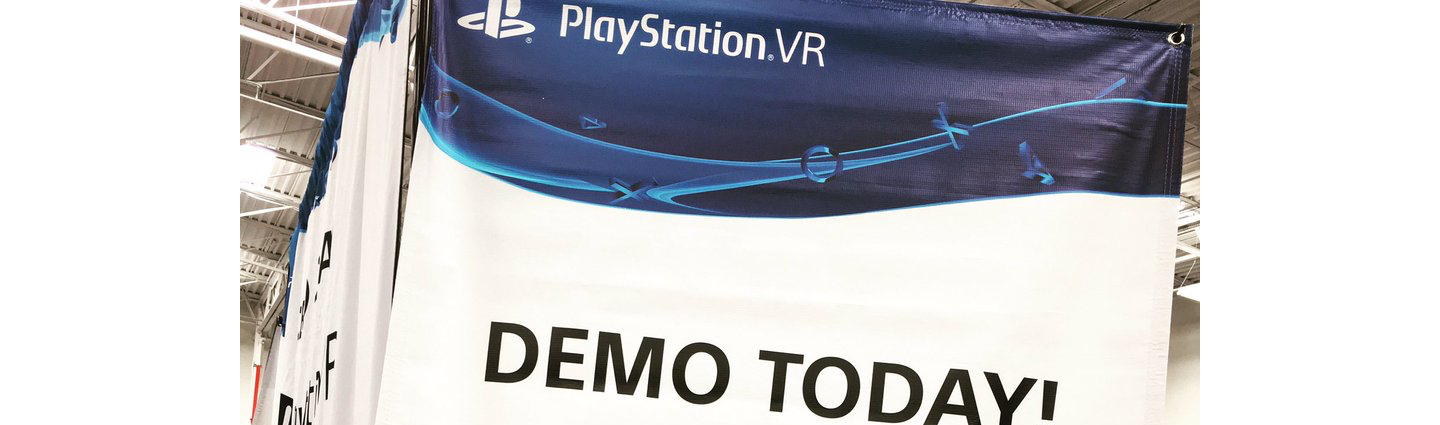 PlayStation VR demo