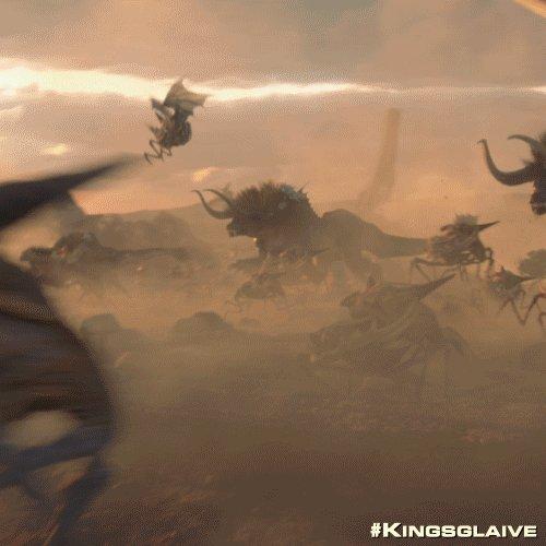 monsters in Kingsglaive