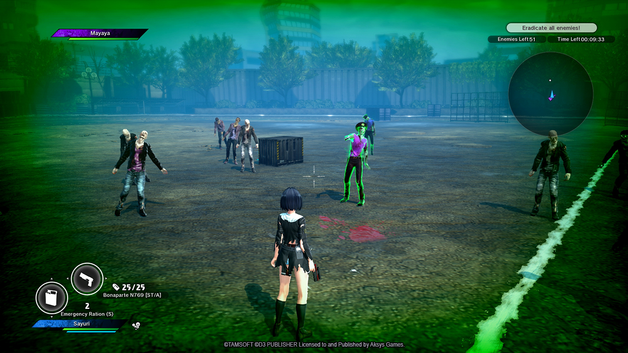 School Girl/Zombie Hunter 3